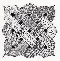 """Celtic Knot with Zentangle"""